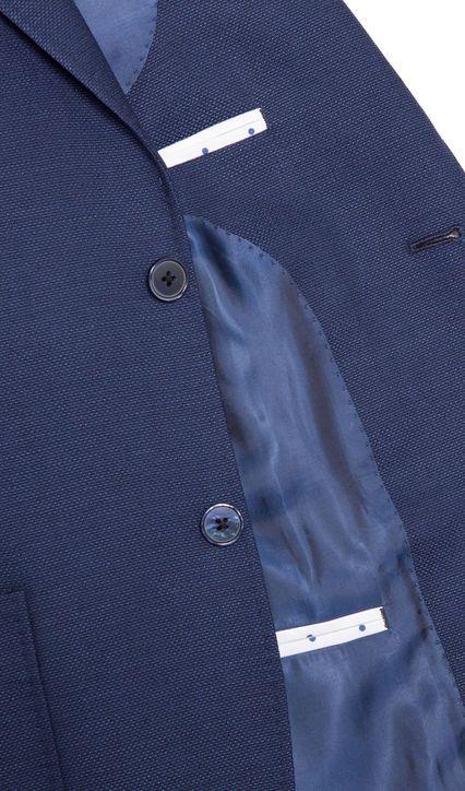 Como Blue Casual Jacket,