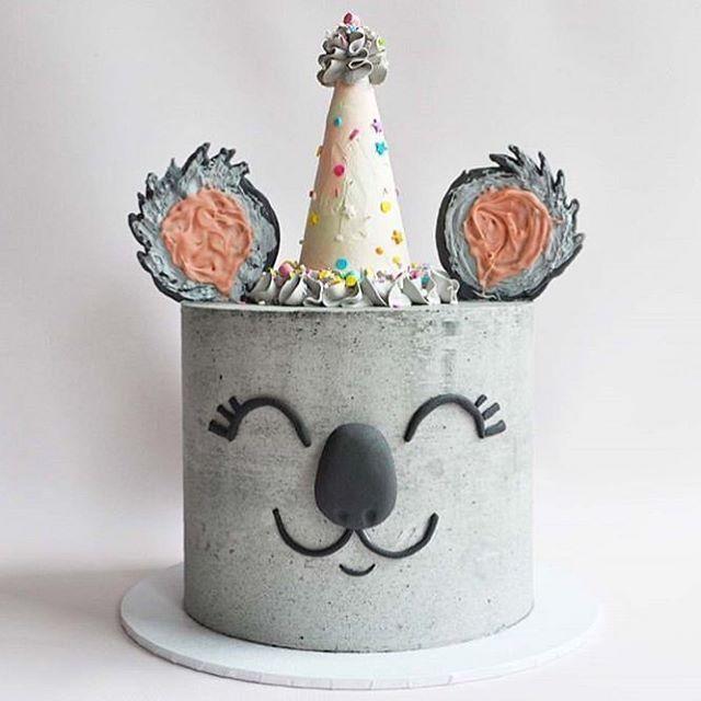 Ist das nicht ein festlicher kleiner Koala? Cake von @breadandbuttercream Folgen...
