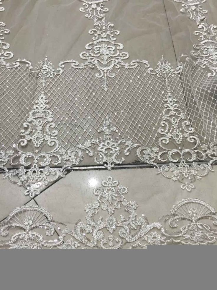 Spectacular Elegent tulle lace bridal lace fabric swiss voile lace french lace fabric fashion