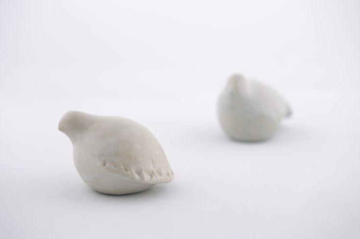 Ceramic birds by Marilena Michopoulou http://marilenamichopoulou.gr