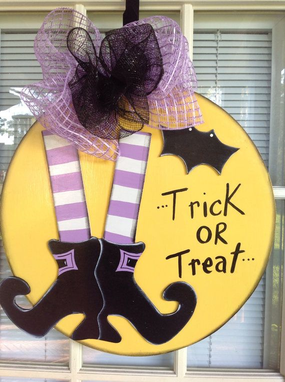 Decorating Ideas > 134 Best Images About Halloween On Pinterest  Fall Door  ~ 160801_Halloween Door Tricks