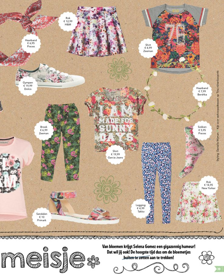 Publicatie in Tina  Groene broek  - 6.99 Zeeman Shirt 76  - 4.99 Zeeman