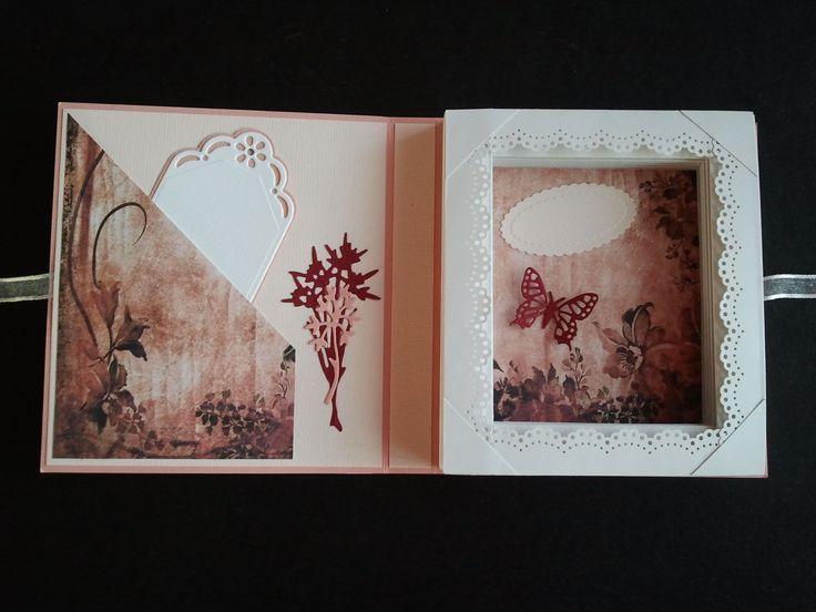 Inside happy birthday bookcard.