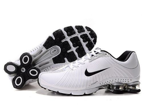 Nike Shox Current Black White Red Mens Shoes Pleasing Shopping
