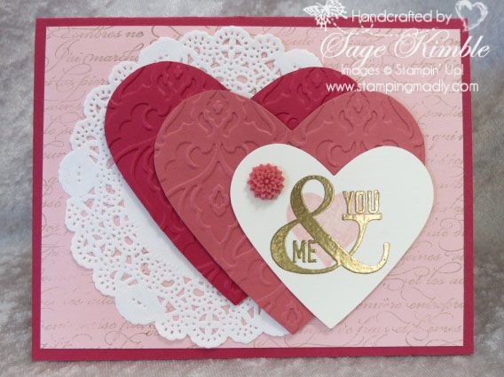 106 best images about Creative Cards Valentines Day – Valentine Day Handmade Card