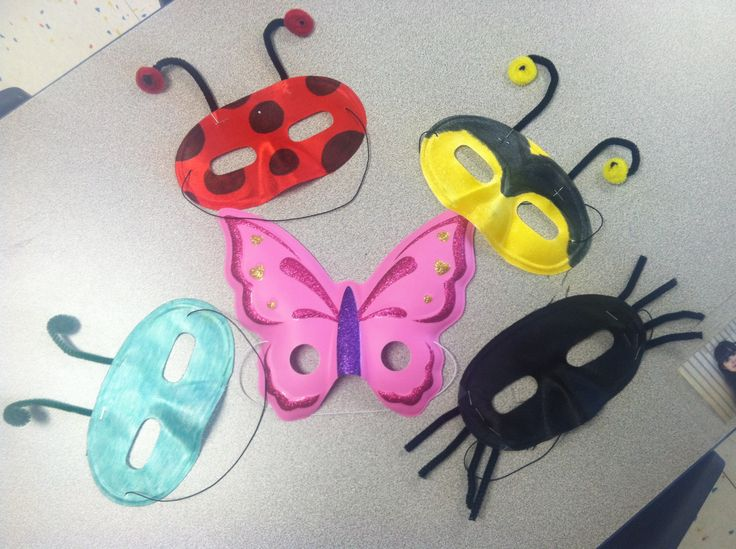 Insect and spider masks