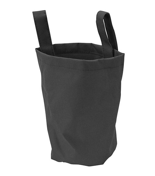 Runna Fabric Bag Black from The Wooden Toybox