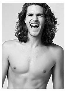 Men's hair: model, Mario Blanco