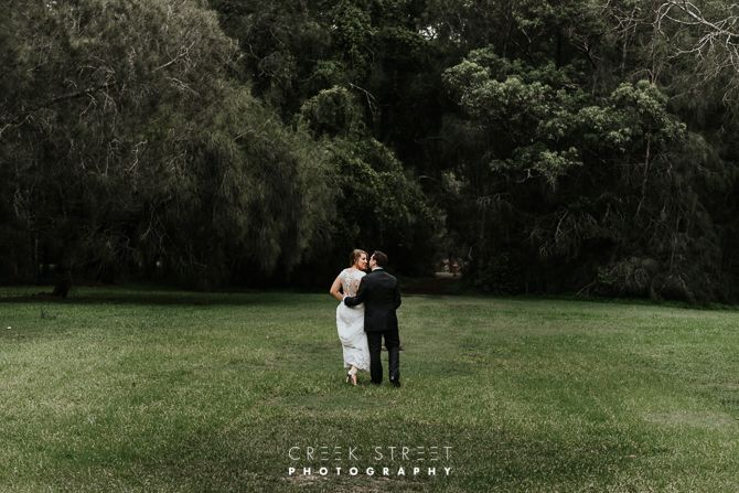McCarrs Creek Wedding Bride and groom
