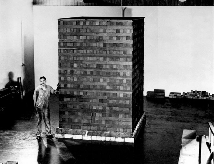 """Chicago Pile-1: the world's first man-made nuclear reactor was built in 1942 in the University of Chicago under the direction of Enrico Fermi in the framework of the work, and later became the basis of the Manhattan Project.  It was ""a pile"" of ..."