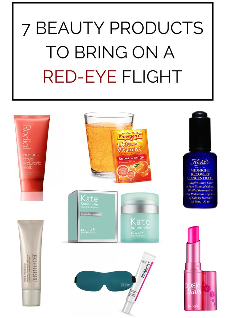The Beauty Products You Need After a Red-Eye Flight