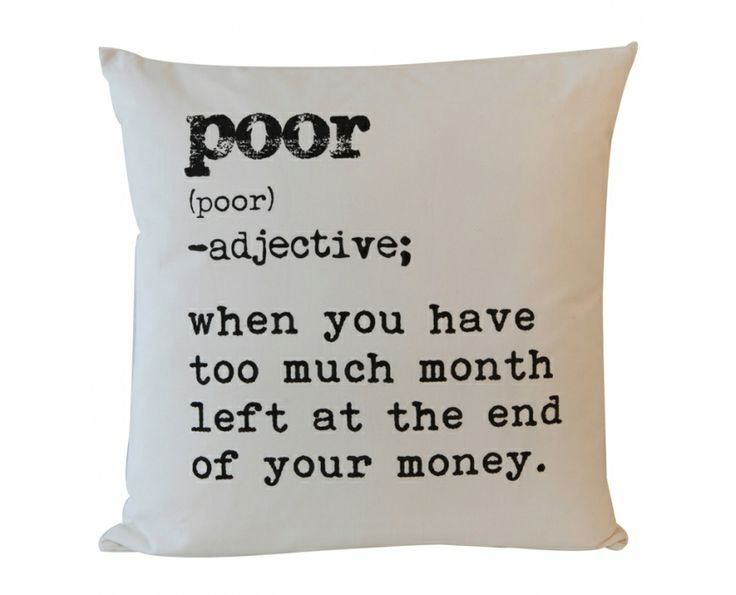 Definition - Poor - Cushions | Weylandts South Africa