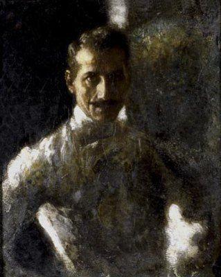 Il maestro di scherma Carlo de Palma | Arturo Rietti | 1908 | 86x60 com | Lascito Kurländer (1992-2002)