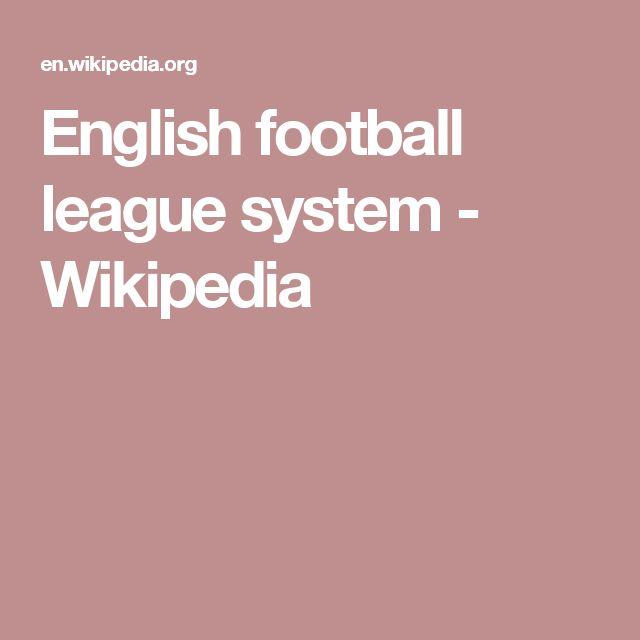 English football league system - Wikipedia