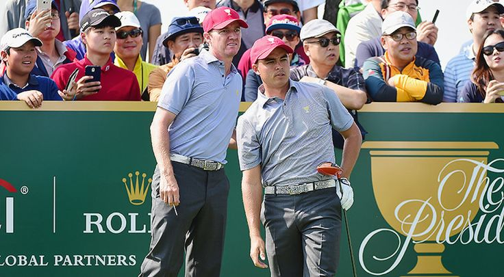 The Jimmy Walker-Rickie Fowler Team From The 2014 Ryder Cup Will Be Together Again On Day 2 Of The 2015 Presidents Cup.
