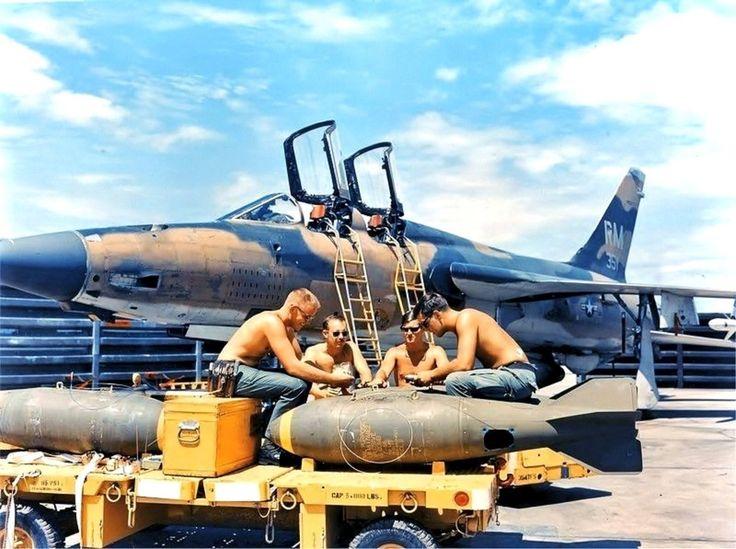 F 105f 63 8351 354th Tfs 355th Tfw Takhli Rtafb