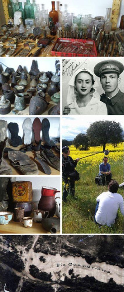 Espacio de memoria de la batalla de Brunete, Quijorna, Memoria Histórica y democrática, Ernesto Viñas, Sven Tuytens, 1.000 donantes necesarios