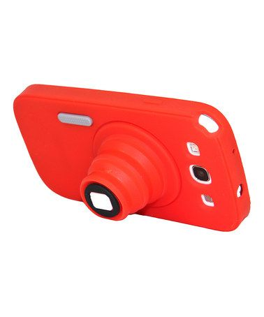 Take a look at this Red Analog Camera Phone Case for Samsung Galazy S3 by Atomic9 on #zulily today!