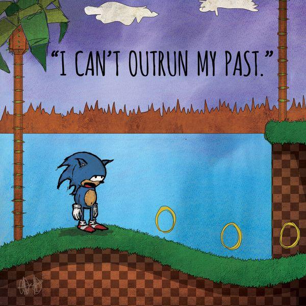 "Dear Inner Demons - Retro Video Game Edition: ""Always on the Run"" Art Print by audiovisualboy | Society6"