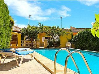 Sweet villa just 250m from the sandy beach of Son Baulo. Large private pool.Holiday Rental in Can Picafort from @HomeAwayUK #holiday #rental #travel #homeaway
