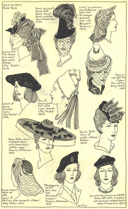 History of Hats | Gallery - Chapter 23 - Village Hat Shop
