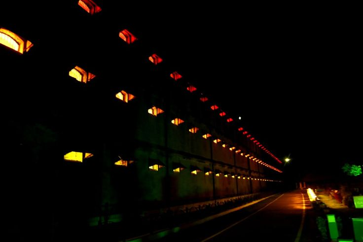 Cellular jail Light and Sound Show