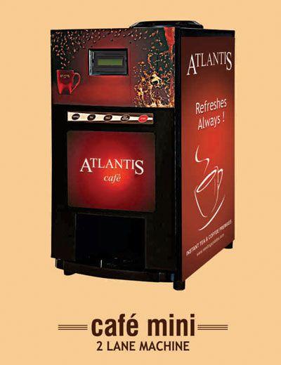 Tea Coffee Vending Machines Noida & Atlantis Coffee Vending Machine in Noida ... Top-Quality Coffee Making Machines, Premixes, And Water Dispensers.