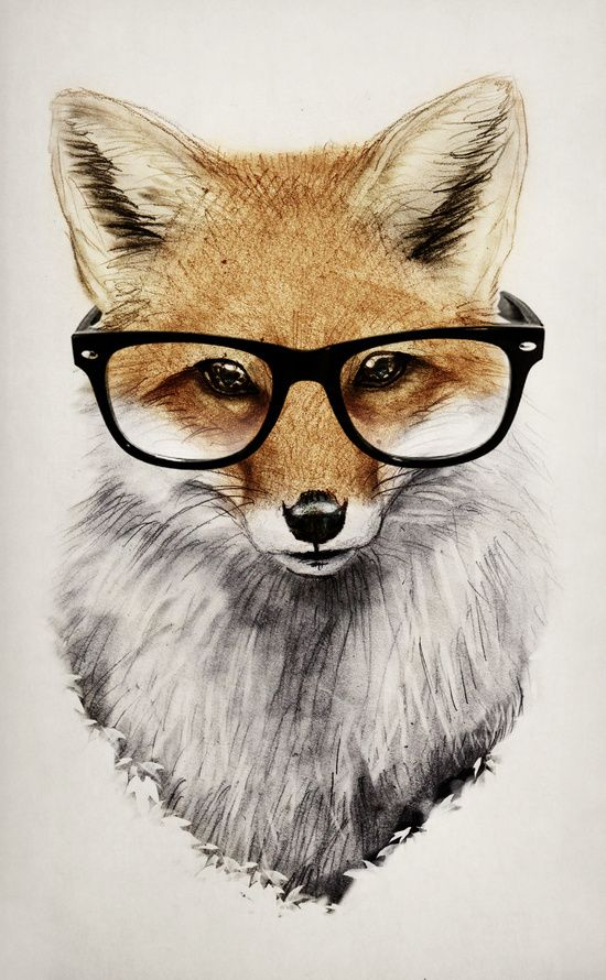 Mr. Fox Art Print by Isaiah K. Stephens | Society6