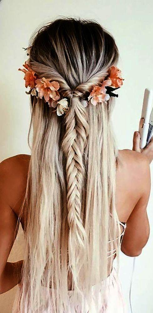 Boho Beachy Bridal Hairstyle Desiree Hartsock Bridal Dream