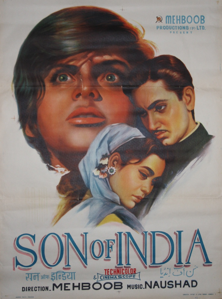 Son of India, 1962 Size: 75x100cm Price: 30€