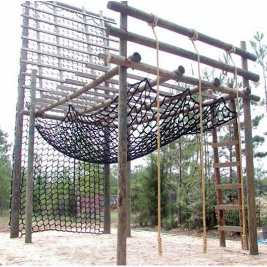 Oc Series Outdoor Cargo Climbing Net Black Netting