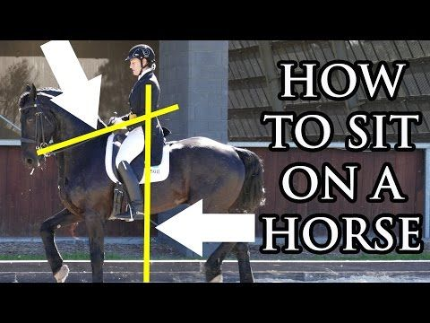 Improve Your Seat (Horseback Riding Perfect Seat) - Dressage Mastery TV Ep2 - YouTube