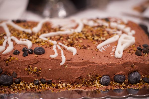 Paleontology Birthday Cake