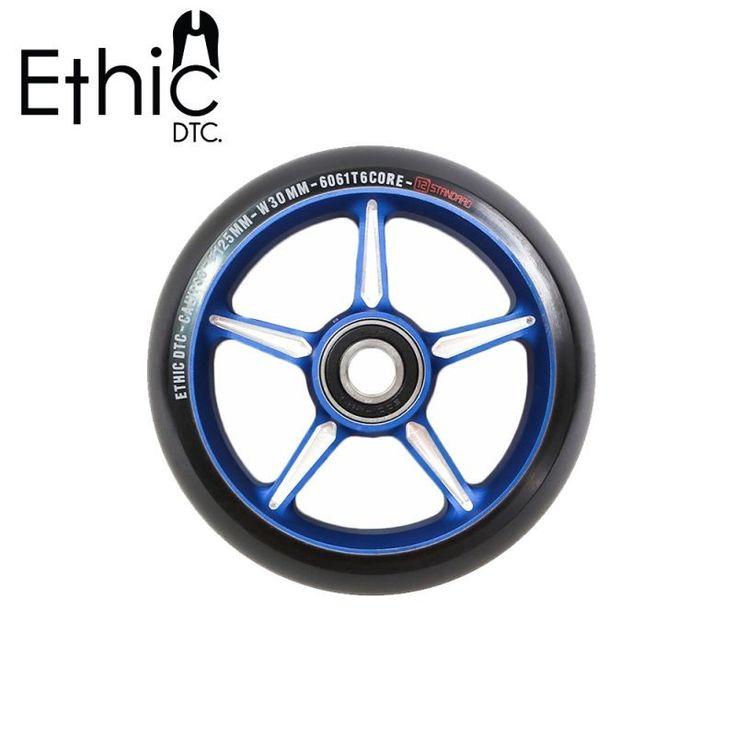 ETHIC DTC CALYPSO 125MM SCOOTER WHEEL - BLUE