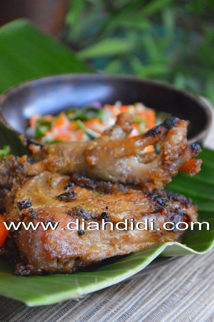 Diah Didi S Kitchen Ayam Bakar Bumbu Terik Resep Masakan Indonesia Memasak Resep Makanan Sehat