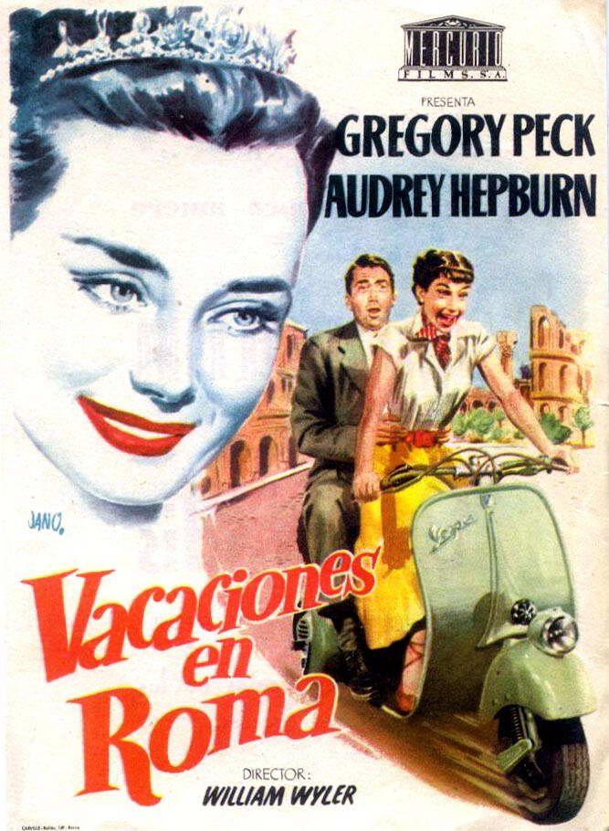 vacaciones en roma poster - Buscar con Google