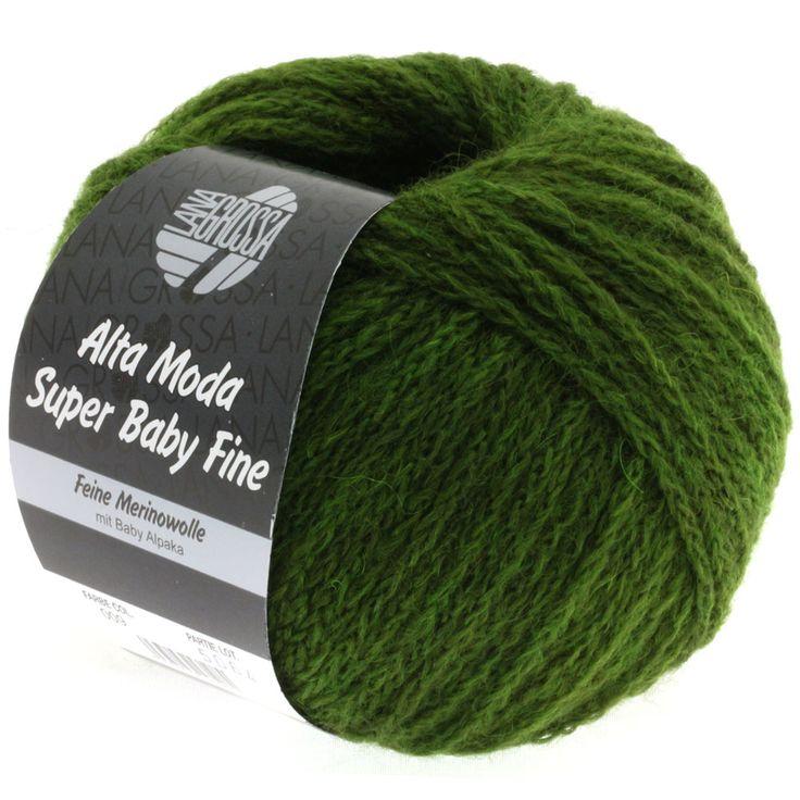 ALTA MODA SUPER BABY FINE uni 09-olive green