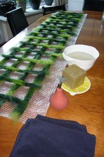 Sjaal vilten (zgn. gaten sjaal) - per pakket