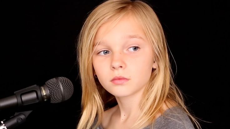 The Sound Of Silence - cover by 11y/o Jadyn Rylee feat. Sina