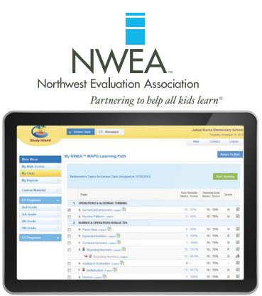 Study Island has partnered with the Northwest Evaluation Association to  offer a fully integrated solution with
