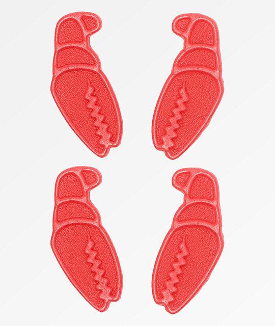 df1413487e Crab Grab Mini Claws Red Stomp Pads