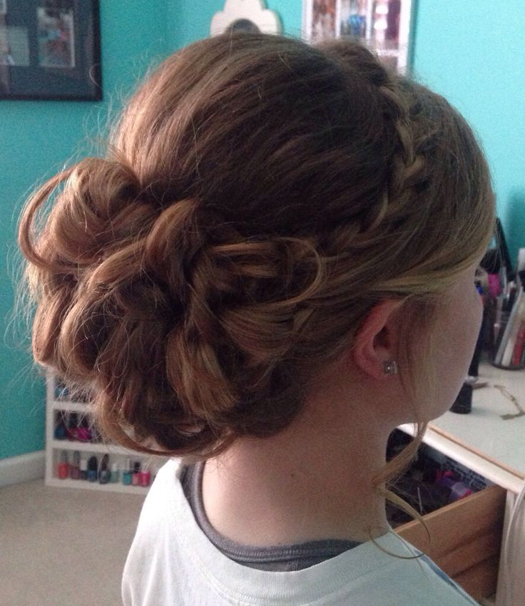 beautiful prom updo hair.claire