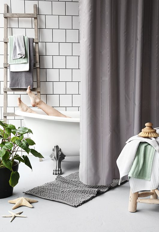 Trendensers bathroom styling for Ellos.se