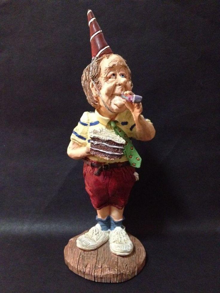 "Estate Find - Old Man ""Happy Birthday"" Statue Item no: 13186 by Doug Harris"