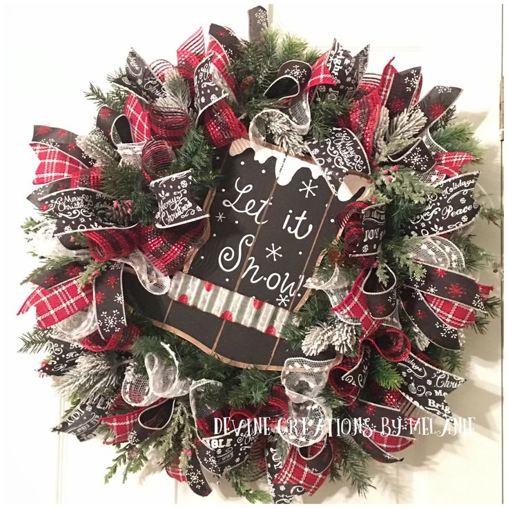 A personal favorite from my Etsy shop https://www.etsy.com/listing/576149657/rustic-christmas-wreath-rustic-winter