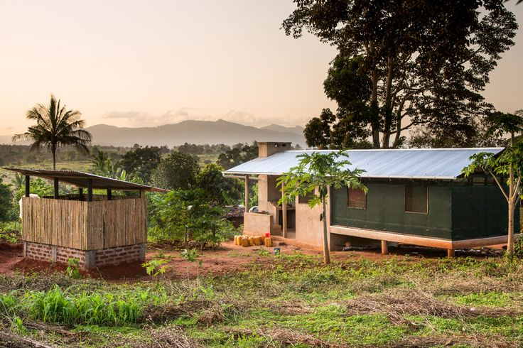 Como a combinação da arquitetura tradicional africana e asiática pode aumentar a qualidade de vida na Tanzânia rural