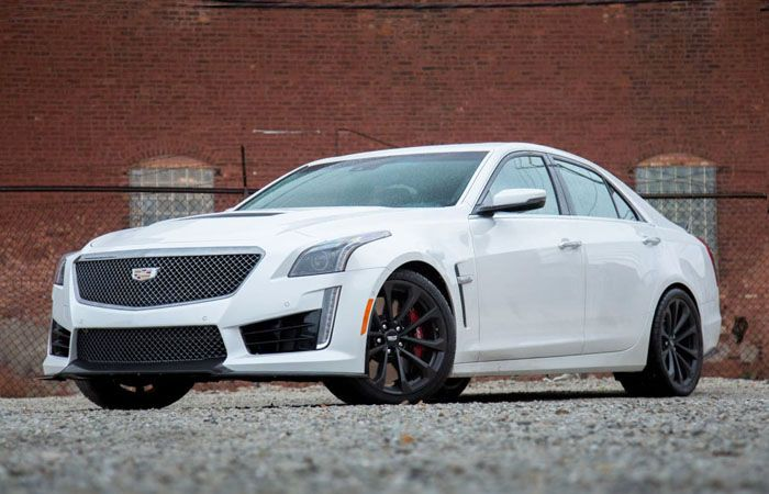 The Best-Known Performance Sedan, 2018 Cadillac CTS-V