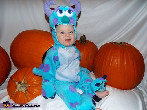 sully from monsters inc 2013 halloween costume contest - Baby Monster Halloween Costumes
