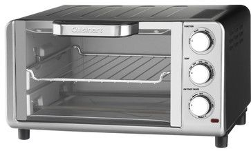 Cuisinart Compact Toaster Oven/Broiler contemporary-toasters