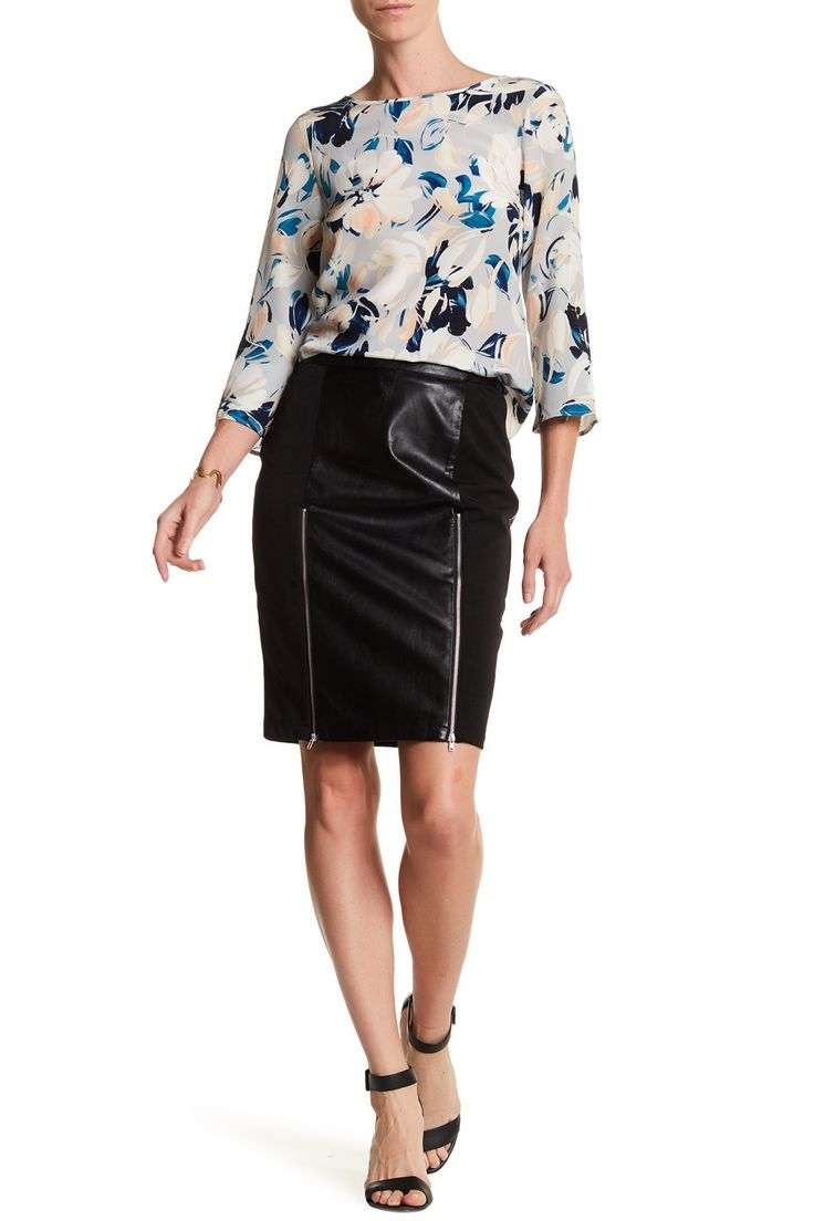 17 best ideas about leather pencil skirts on